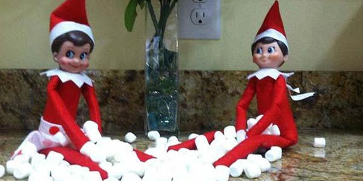 Send in your pics of Elf on the Shelf