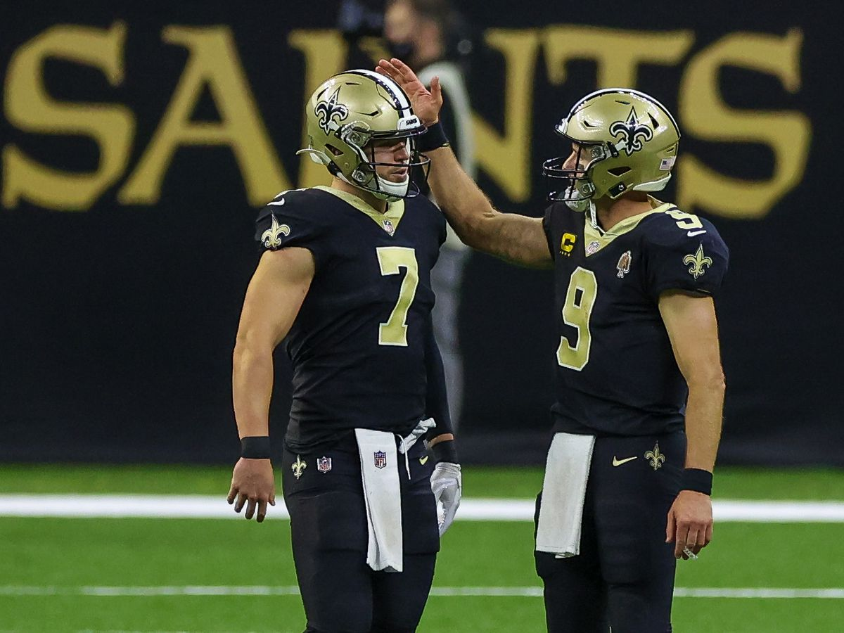 Taysom Hill will start against the Falcons