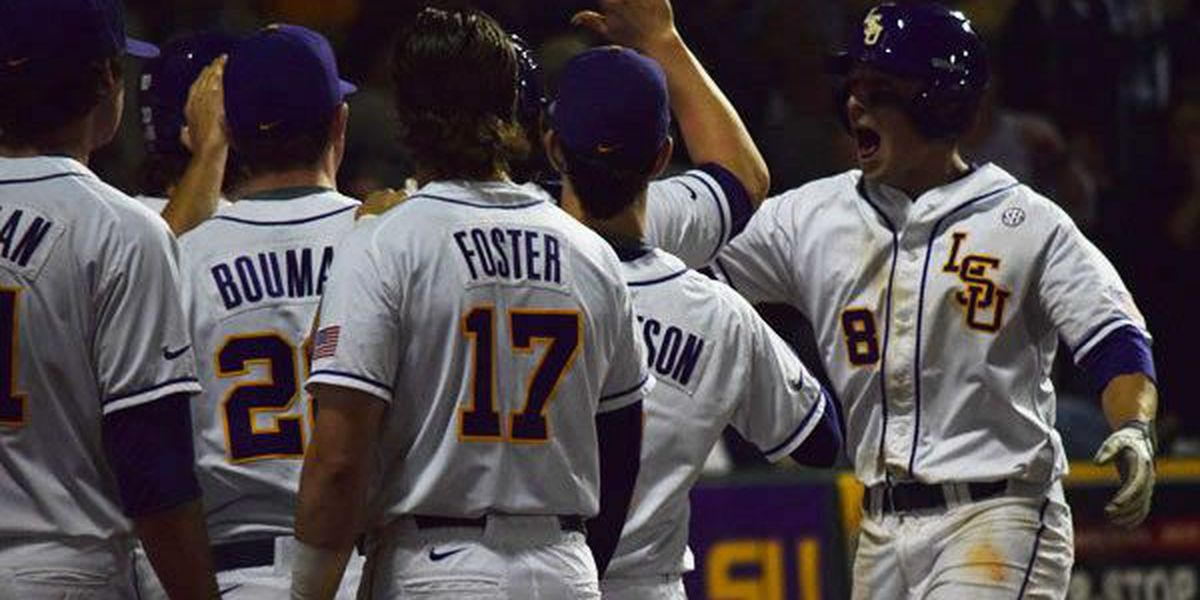 LSU finishes No. 5 in final baseball rankings