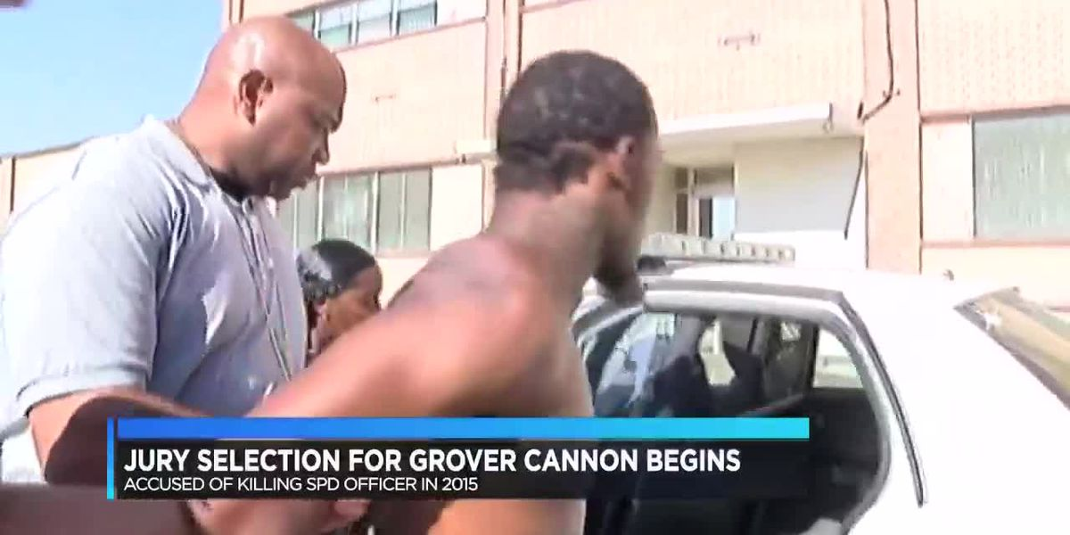 Grover Cannon trial preceding begins