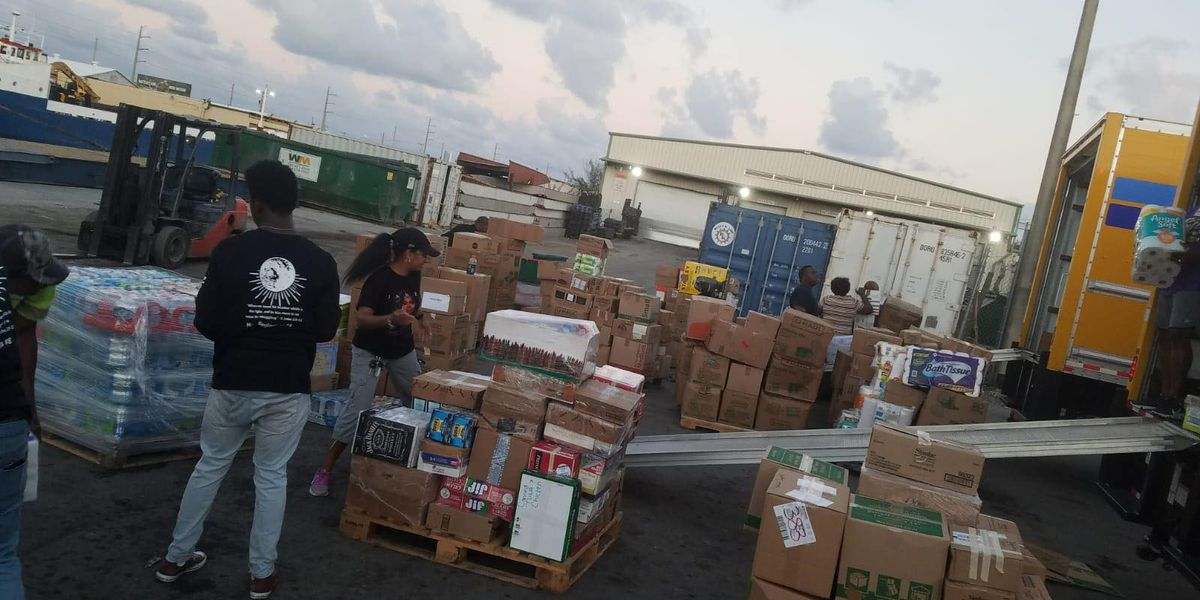 Bahamas-bound supplies, donations make it to Miami