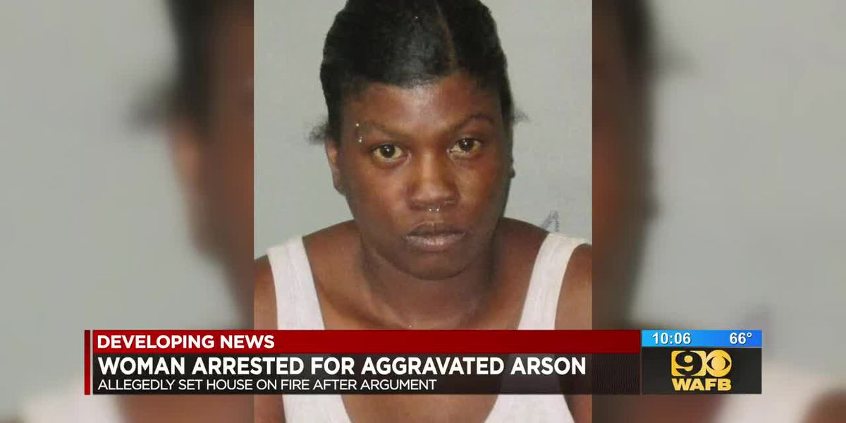 Woman behind bars after setting house fire following argument