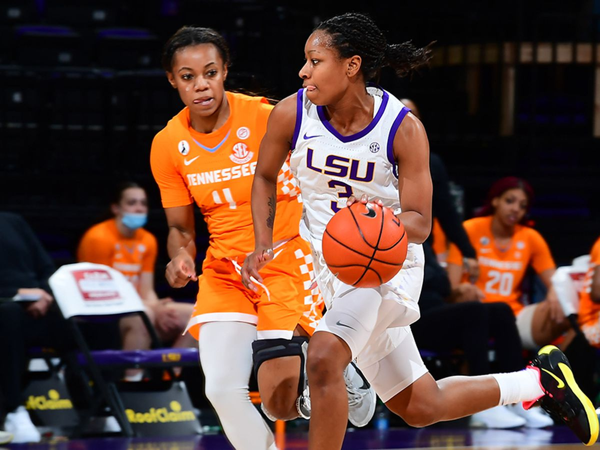 LSU PG Khayla Pointer earns All-SEC First Team, All-Defensive Team honors