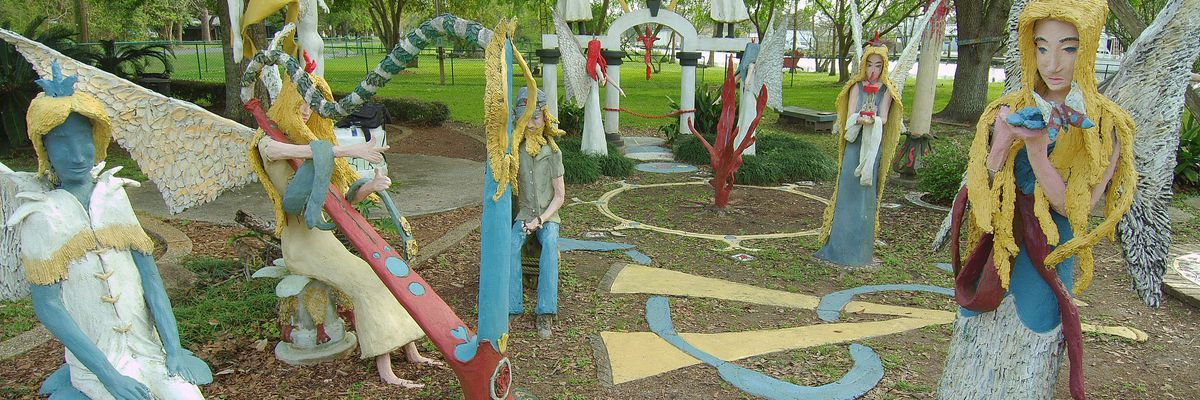 SHOWCASING LOUISIANA: Chauvin Sculpture Garden captivates with mystery and intrigue