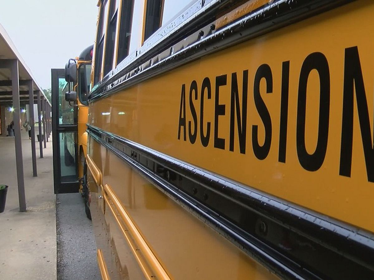 Ascension Parish Public Schools officials say more students on buses, more extracurricular activities allowed during Phase 3