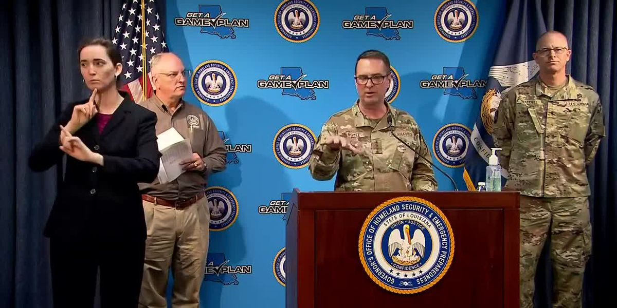 Thur., April 23: Daily COVID-19 press conference includes discussion about severe weather