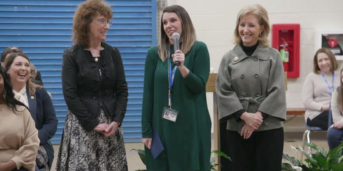 West Feliciana Parish teacher wins prestigious Milken Educator of the Year award