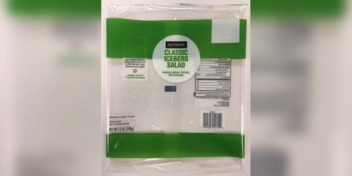 Bagged salad recall expands to Walmart amid cyclospora outbreak