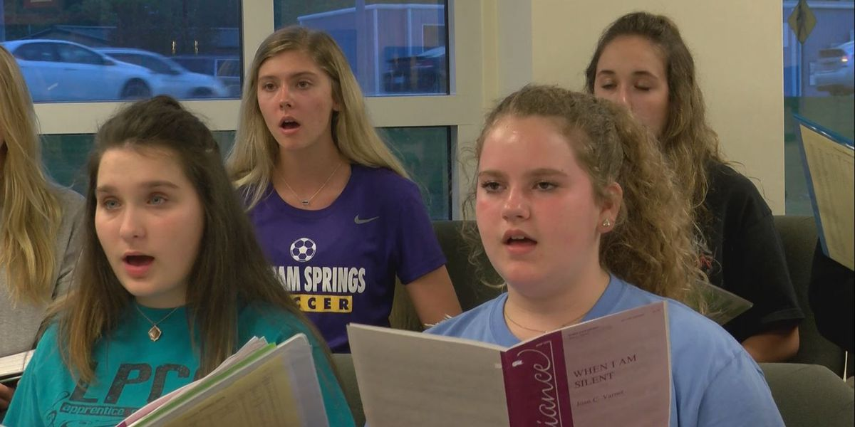 Livingston Parish Children's Choir has entertained international audiences for 28 years