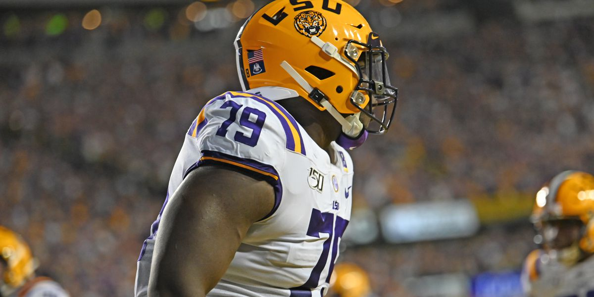 No. 2 LSU hits the practice field to prepare for No. 9 Auburn