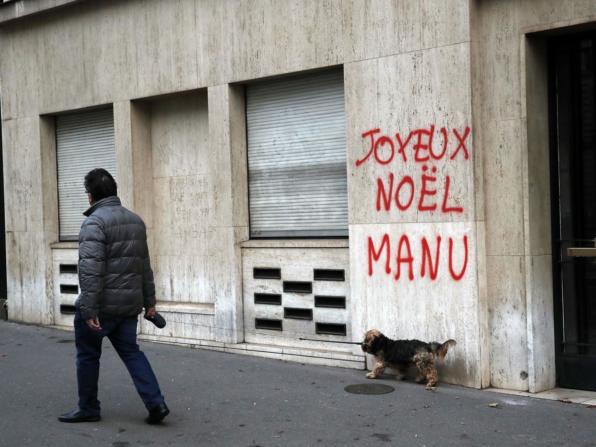 Macron addresses France amid protests; is it too late?