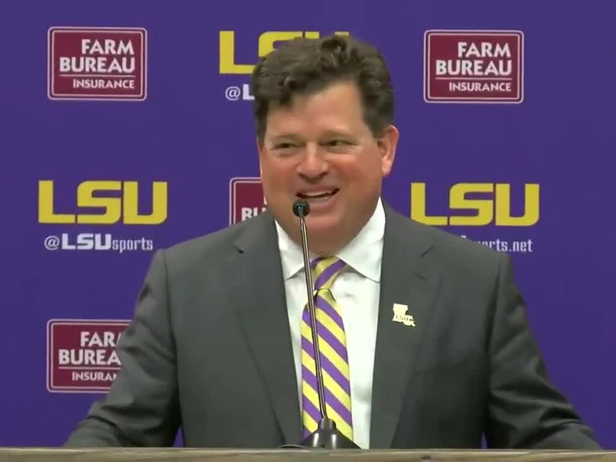 New LSU athletic director will make base salary of $525k per year