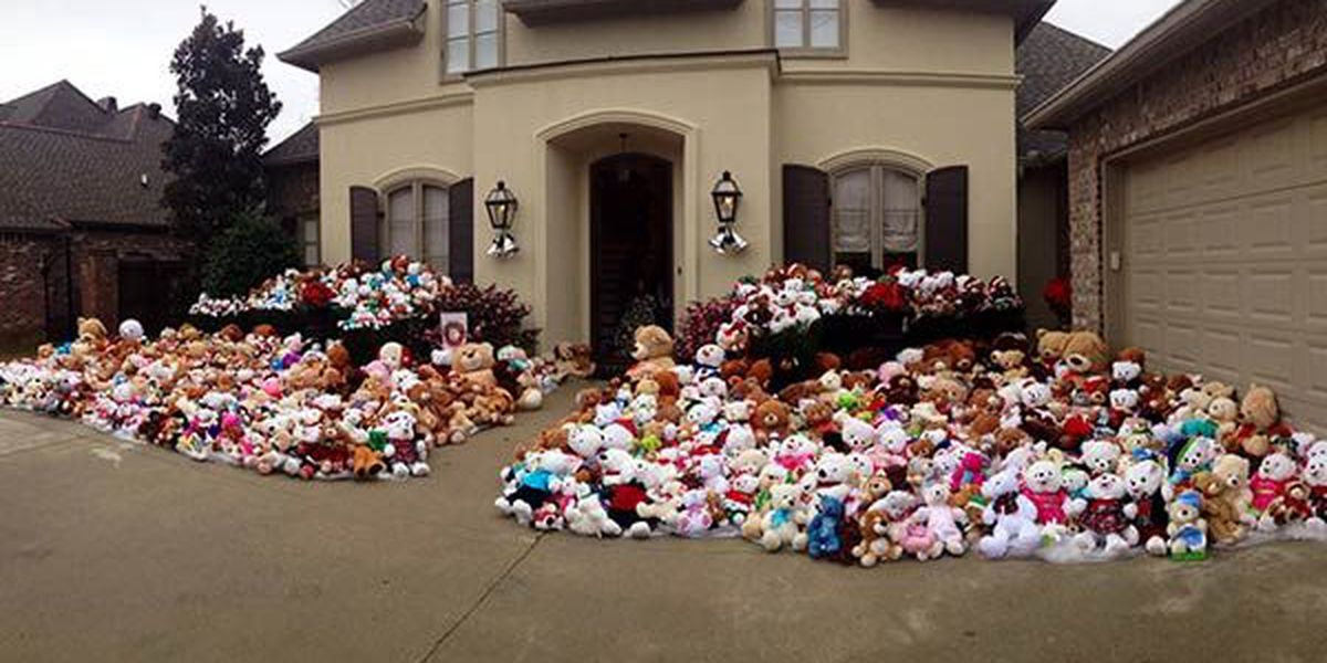 Organizer says 1,563 teddy bears collected and delivered in memory of teen