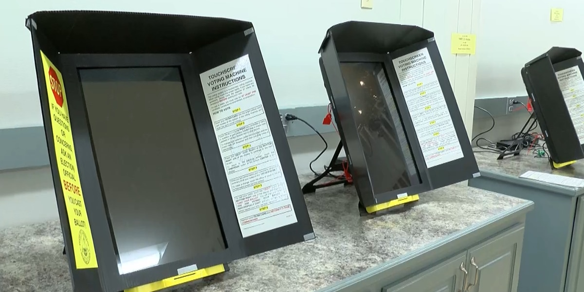 Louisiana early voting to feature high-tech touchscreen devices