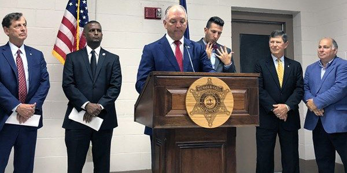 Gov. Edwards touts criminal justice reform results one year after becoming law