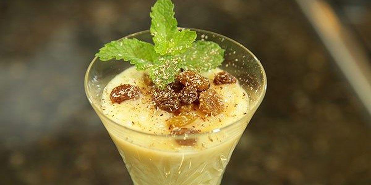 Rum Raisin Rice Pudding