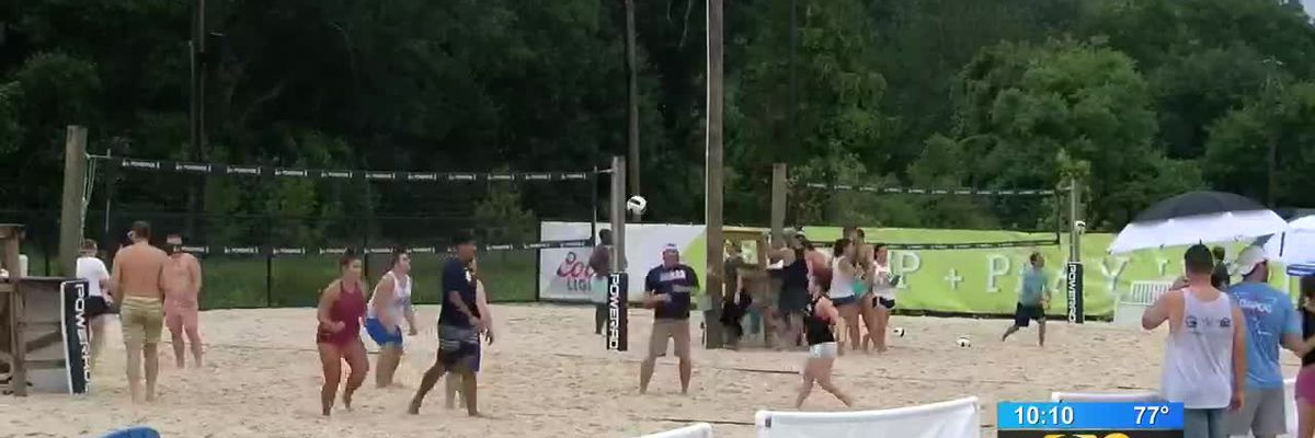Volleyball tournament doubles as fundraiser benefiting Cystic Fibrosis research