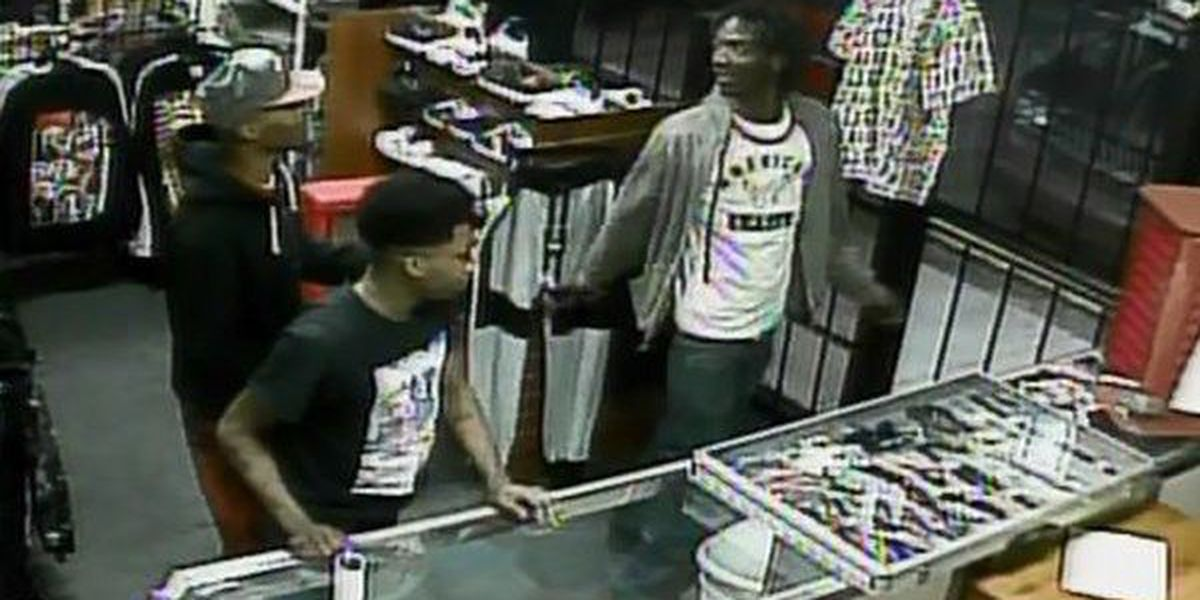 Police search for trio accused of stealing more than $1,400 worth of jeans from store
