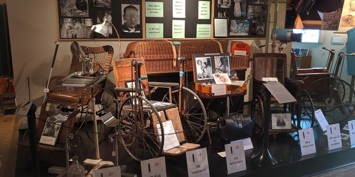 SHOWCASING LOUISIANA: National Hansen's Disease Museum