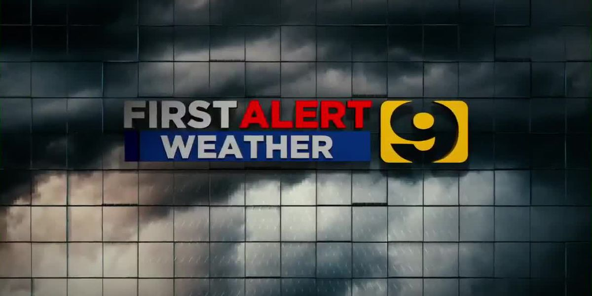 FIRST ALERT FORECAST: Marginal risk for severe weather Sunday