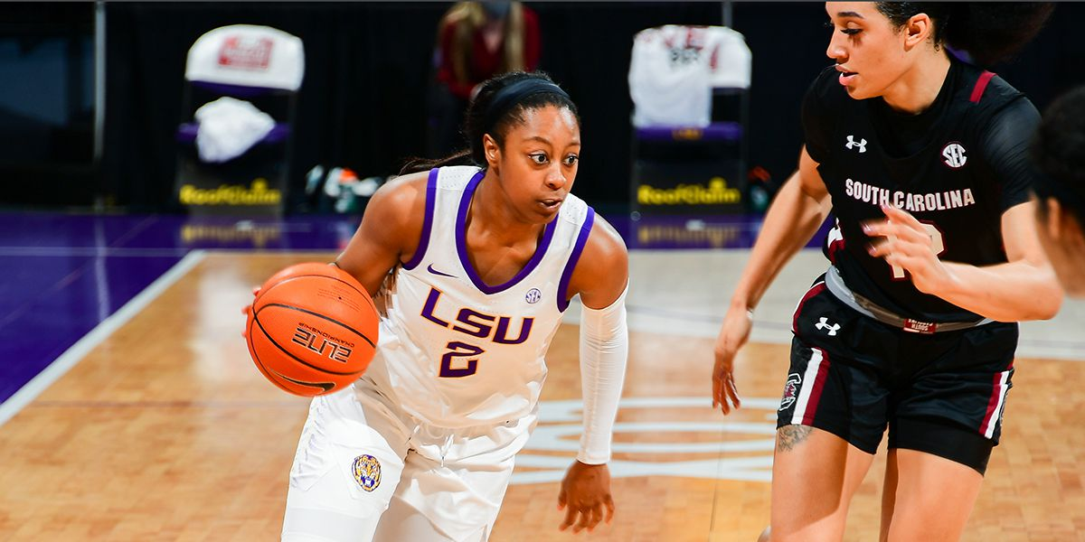 LSU's Tiara Young of Walker, 4 others enter transfer portal