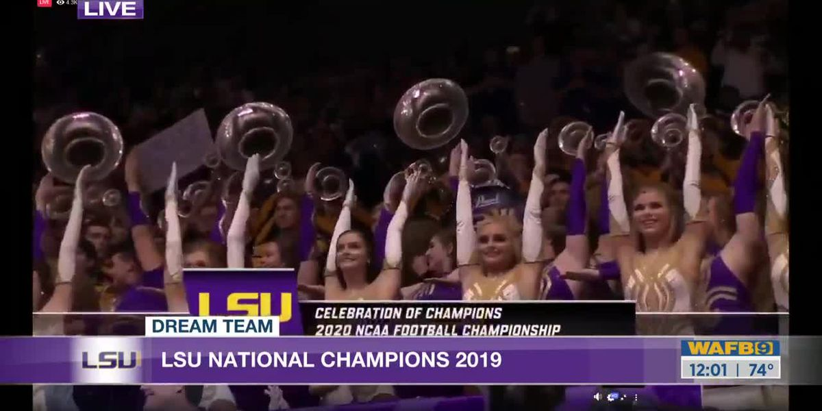 FULL VIDEO: LSU celebrates national championship win with victory parade
