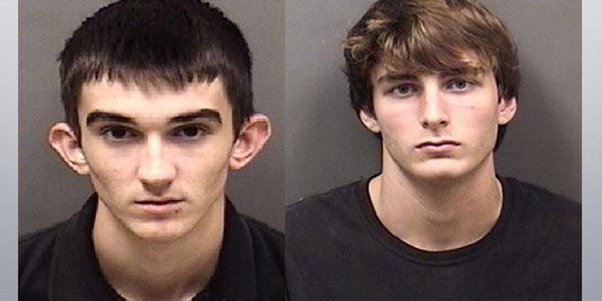 Three teenagers arrested for burglary