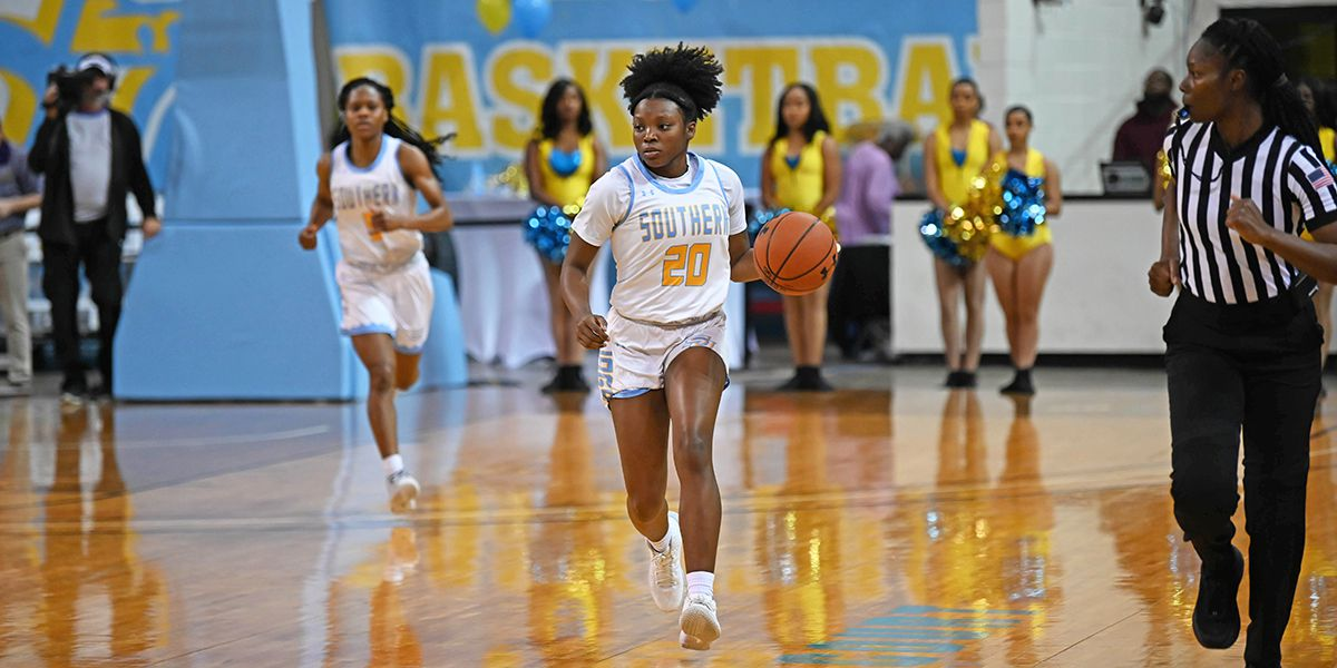 Southern Lady Jags run over UAPB