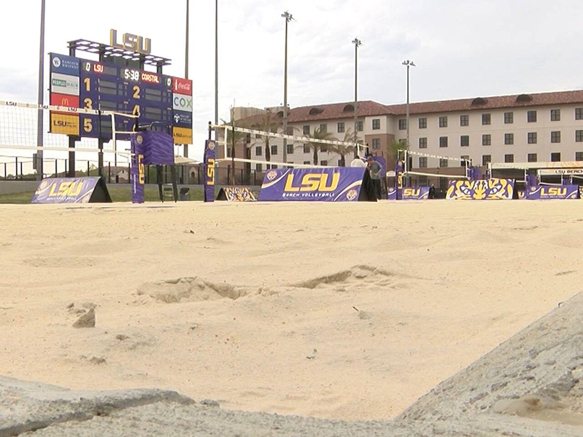 No. 2 LSU hosts No. 1 UCLA for Tiger Beach Challenge