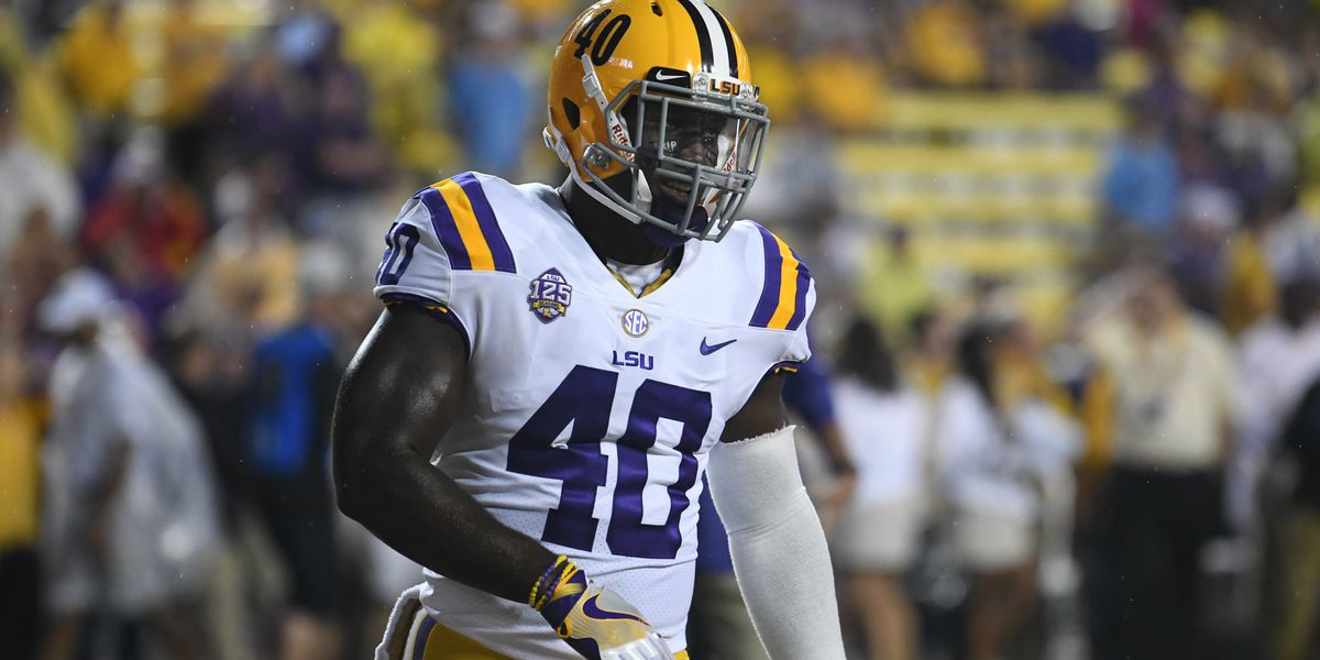 LSU's Devin White named 2018 winner of Butkus Award