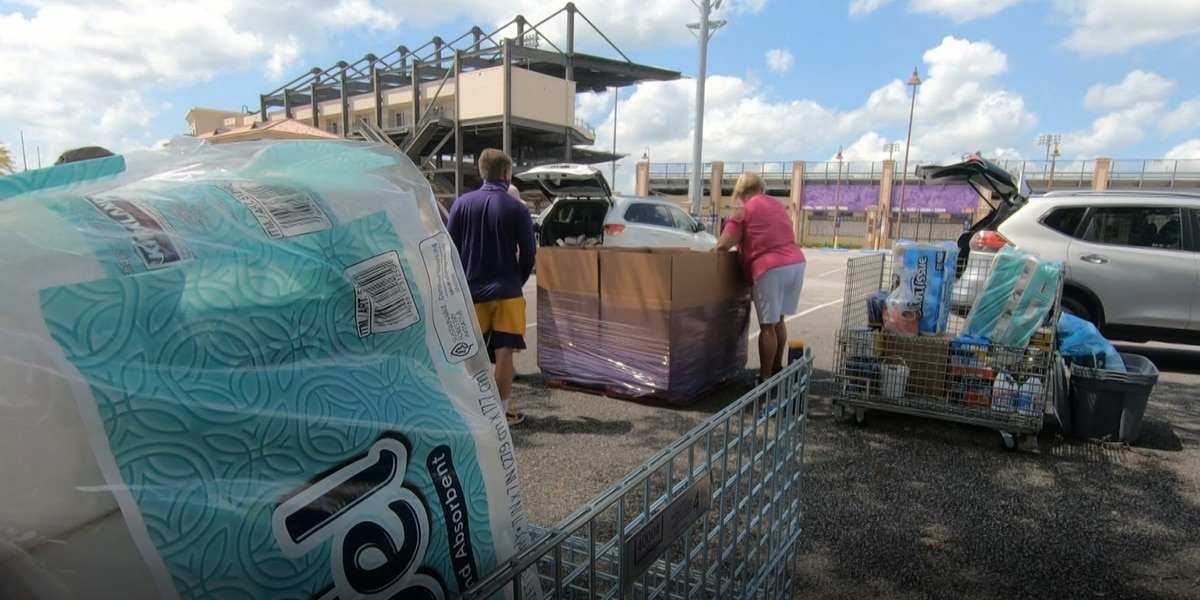 LSU to deliver truckload of supplies to Hurricane Laura victims in SWLA