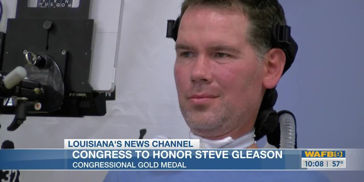 Former Saints player, Steve Gleason, to receive Congressional Gold Medal