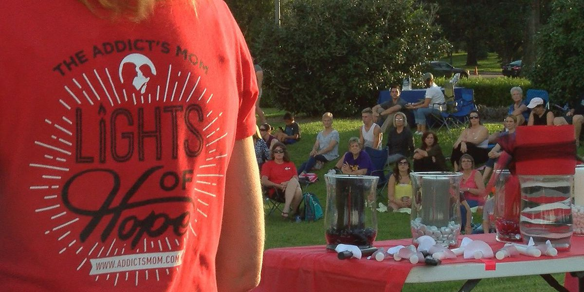 LIghts of Hope honors recovering addicts