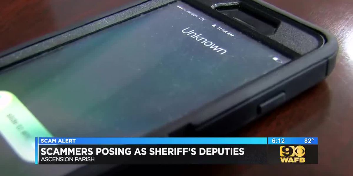 Scammers posing as sheriff's deputies in Ascension Parish