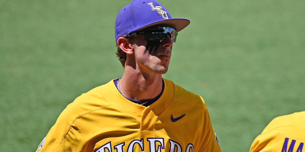 LSU center fielder Zach Watson earns back-to-back Gold Glove awards