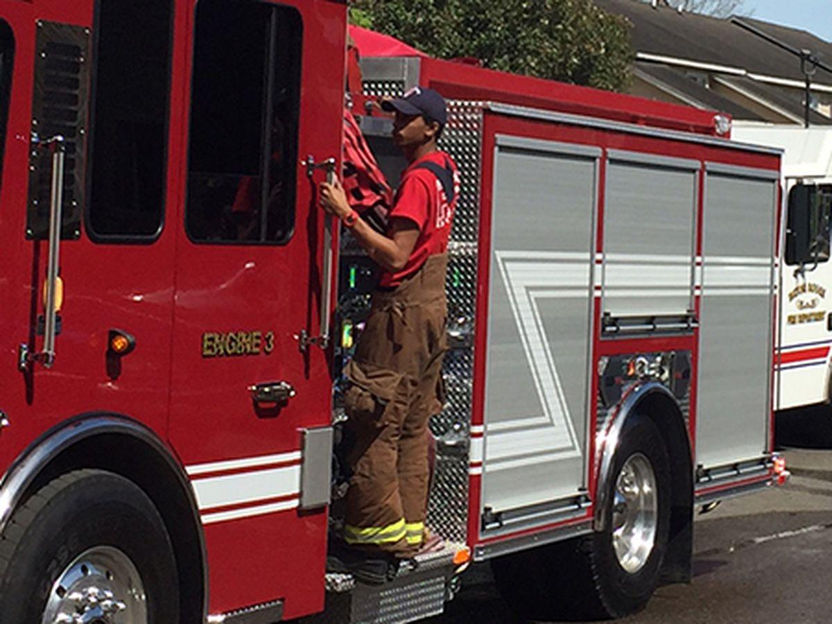 BRFD investigating arson on Topeka Street