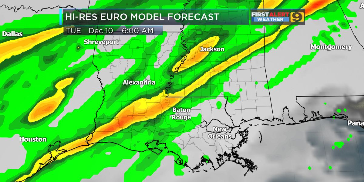 FIRST ALERT FORECAST: Foggy morning, rain overnight