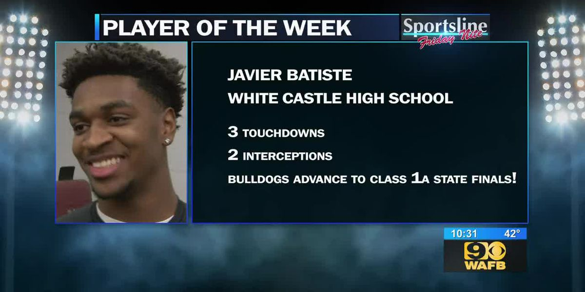 Sportsline Player of the Week: White Castle QB/SS Javier Batiste (Semifinals, Championships)