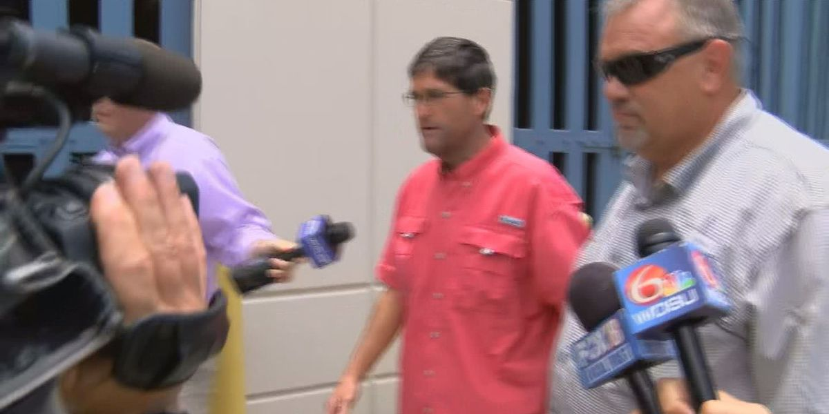 VIDEO: Jack Strain bonds out of jail after charges of child rape, incest