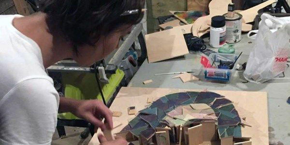 Artist creates sculpture in honor Charlottesville victim