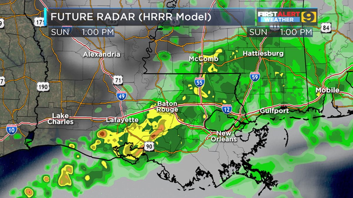 FIRST ALERT FORECAST: Dry to start, wet to end this weekend