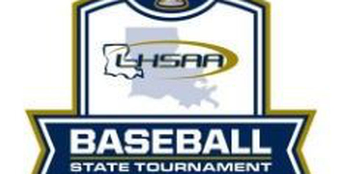 2018 baseball playoff brackets released by LHSAA