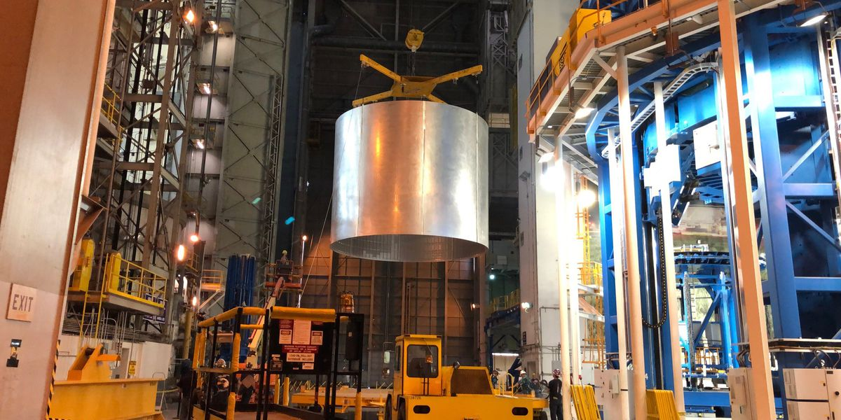 Michoud workers amp up production schedule for Artemis launch next year