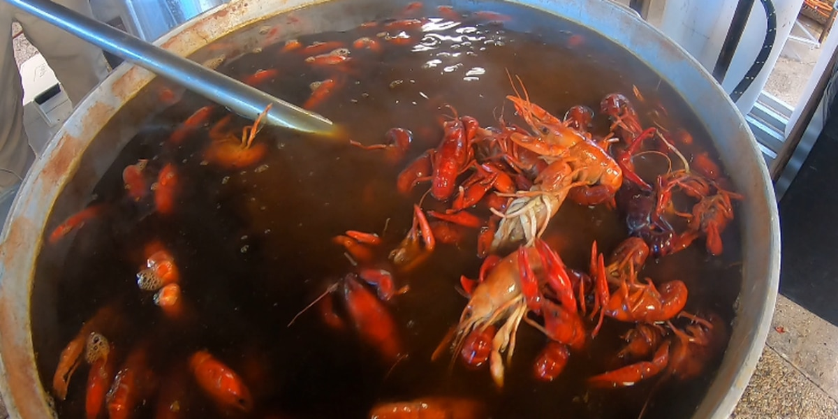 Crawfish season starting early for some restaurants in south Louisiana