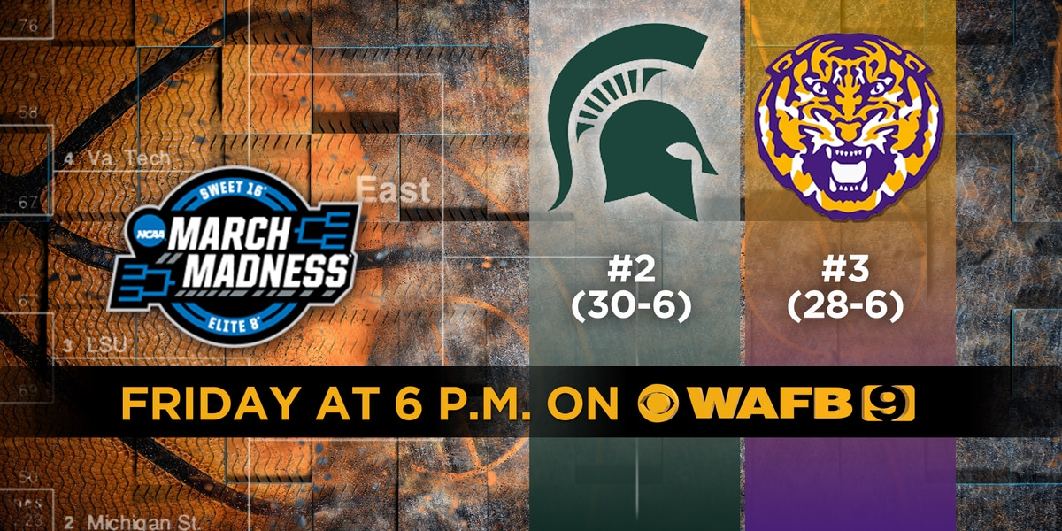 Tigers, Spartans looking to punch ticket to Elite 8