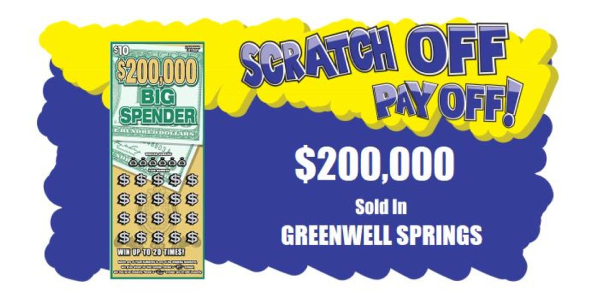 $200k lottery ticket sold in Greenwell Springs