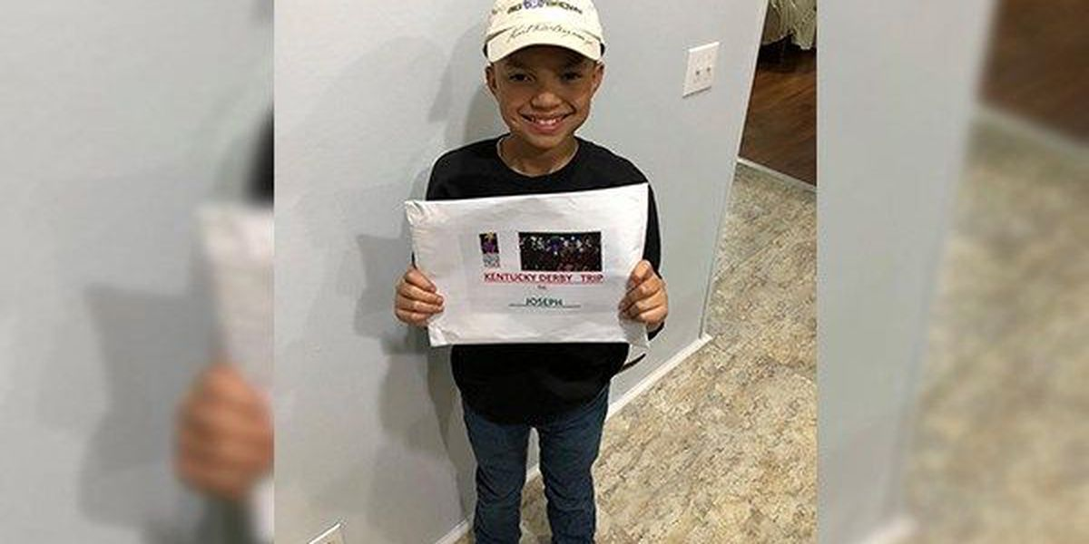 Boy who received bone-marrow transplant granted wish to attend Kentucky Derby
