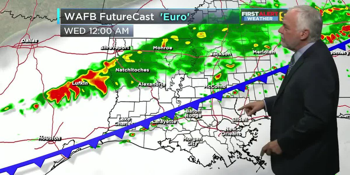 FIRST ALERT 5 P.M. FORECAST: Monday, Feb. 17