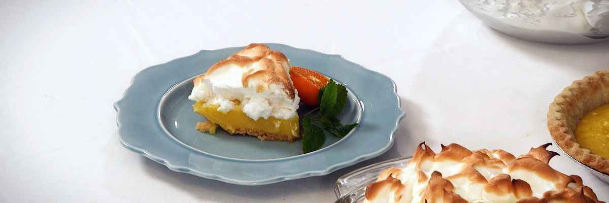 Plaquemines Parish Orange Meringue Pie