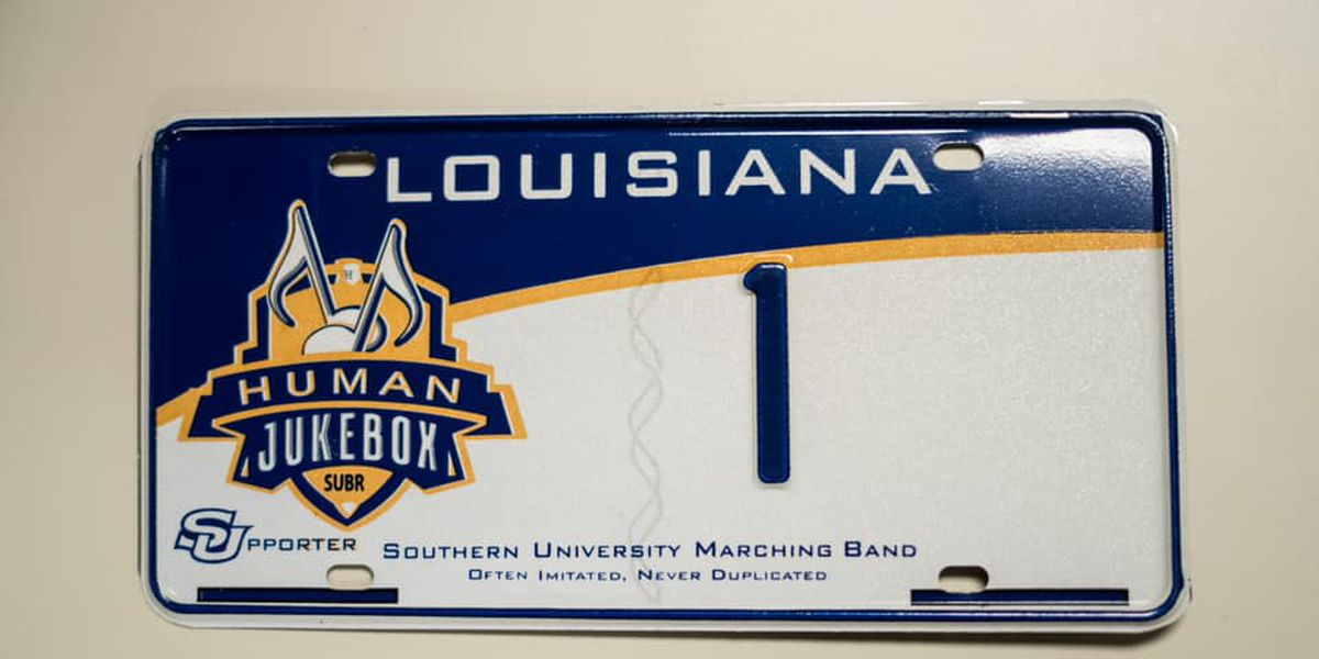 NOW AVAILABLE: Southern's Human Jukebox Band license plates